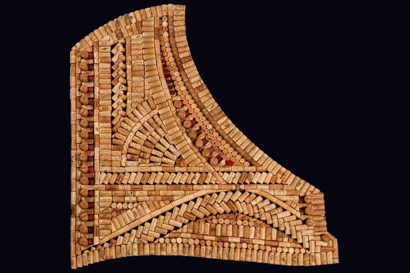 Emilita commercial art by wine cork designs for Wine cork patterns