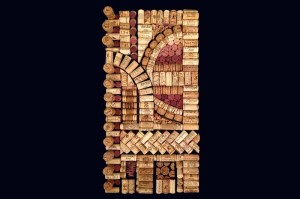 Julietta, wine cork art decor