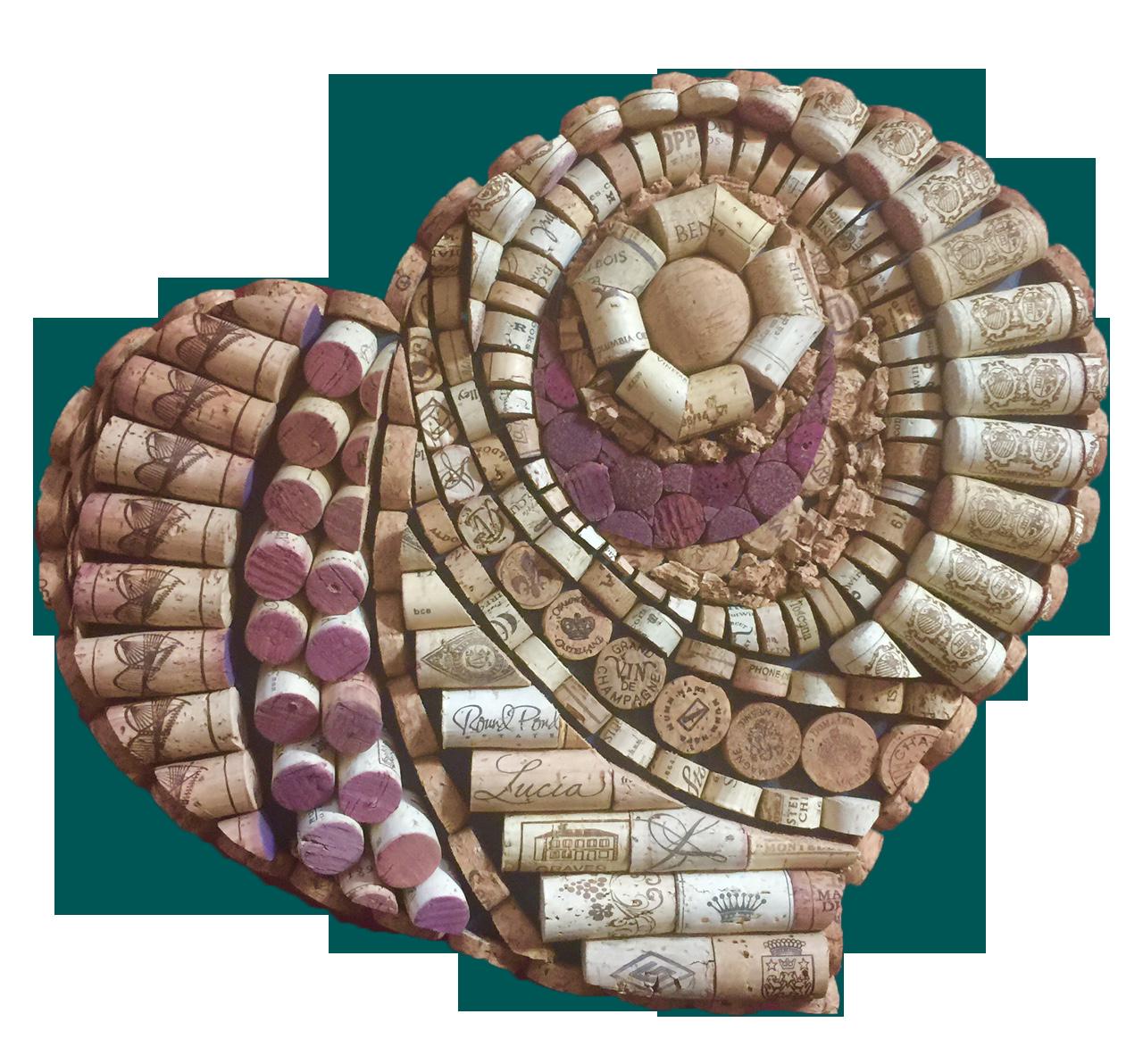 Wine Cork Art: Wine Cork Patterns